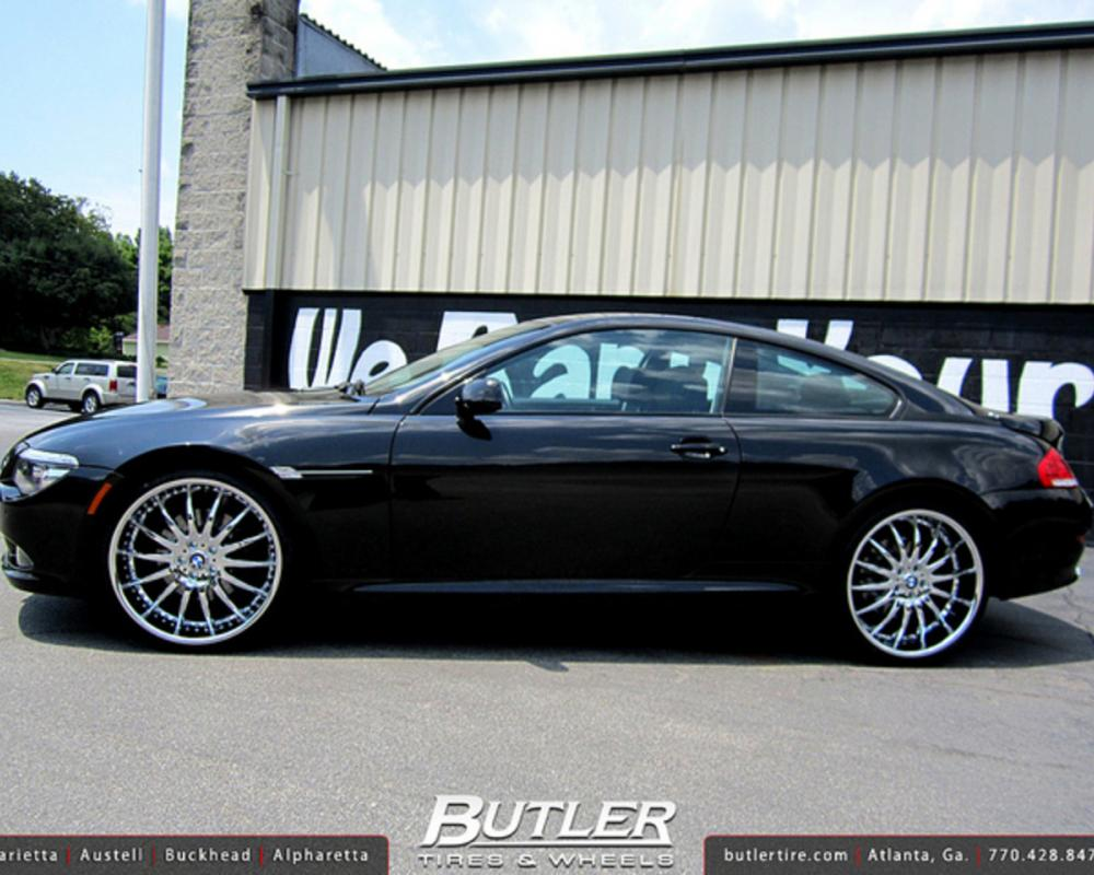 BMW 6 Series with 22in Lexani LX14 Wheels | Flickr - Photo Sharing!