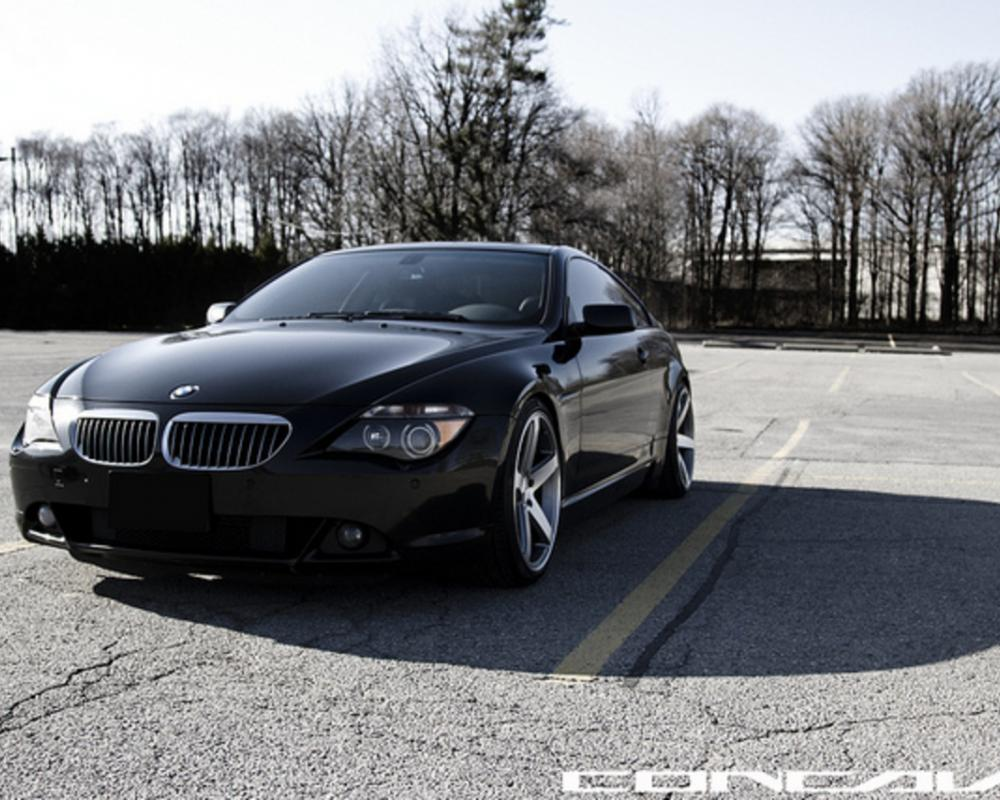 BMW 645i on CW-5 Matte Grey Machined Face #TEAMCONCAVO TORONTO ...
