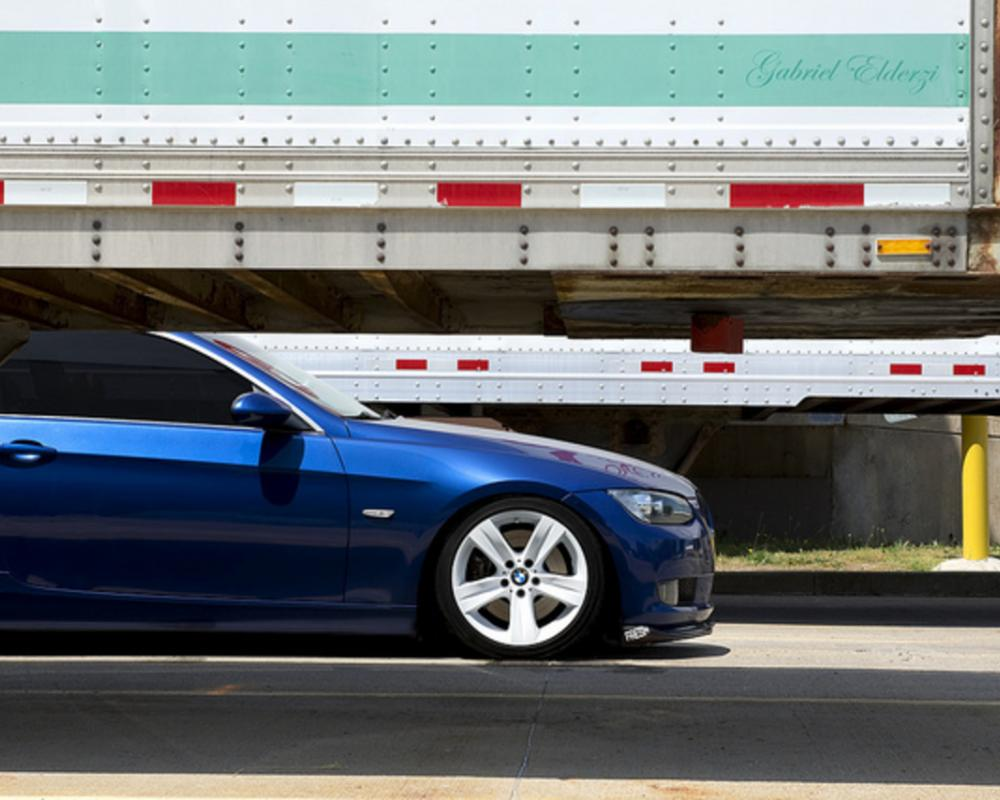 BMW 335i rolling on some white style 189's! | Flickr - Photo Sharing!