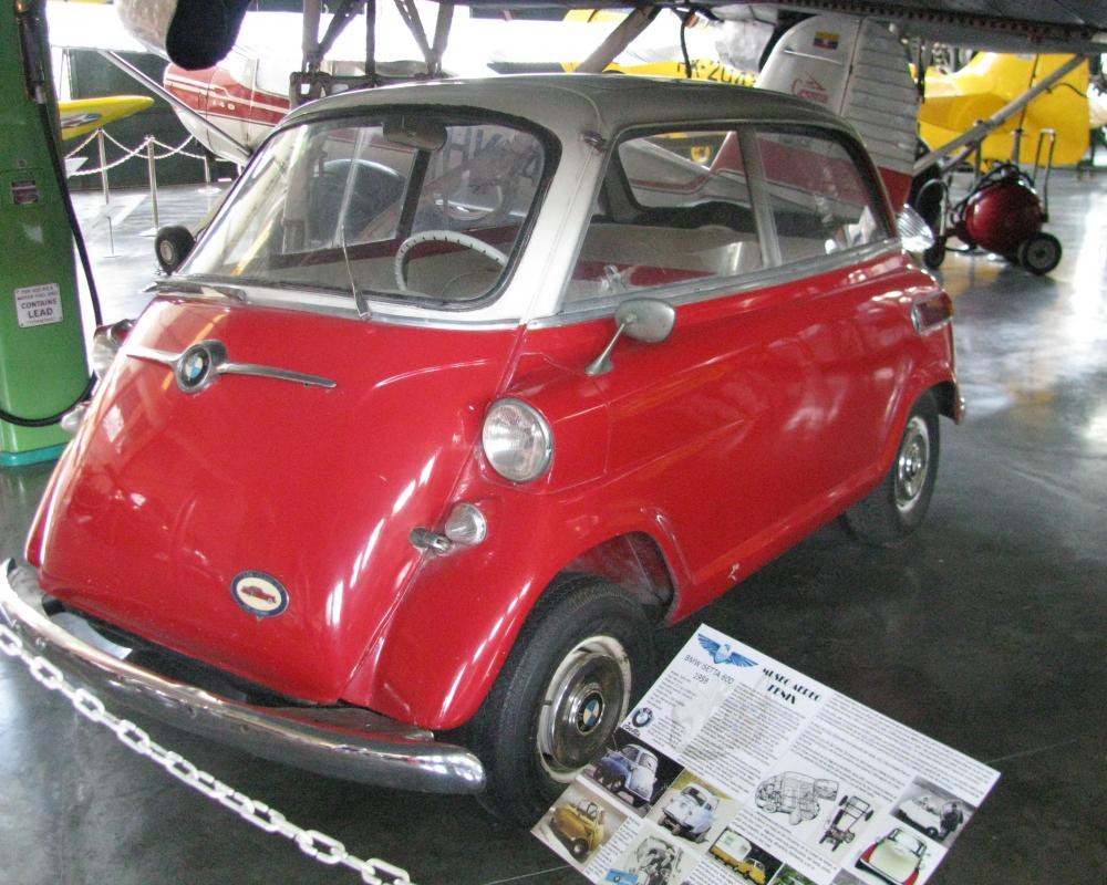 Museo Aéreo Fénix: BMW isetta 600 | Flickr - Photo Sharing!