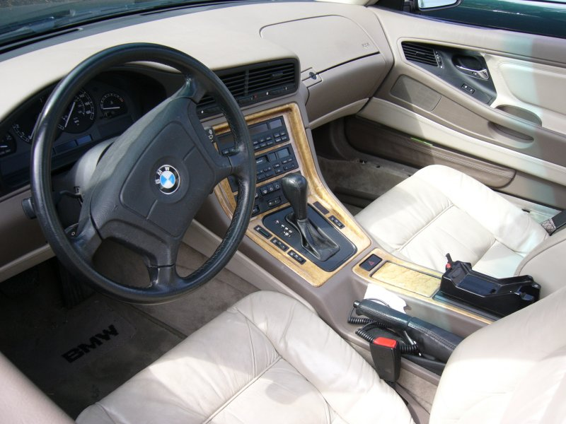 1997 BMW 8 Series - Interior Pictures - 1997 BMW 850 850ci picture ...