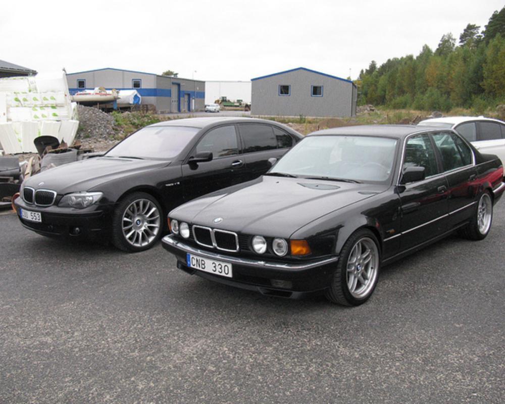 BMW 750i E32 + 760 Li Individual E66 | Flickr - Photo Sharing!