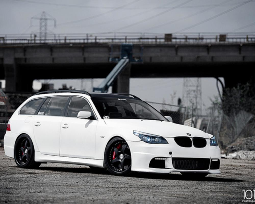 VIP Modular Wheels BMW 5-Series Wagon | Flickr - Photo Sharing!