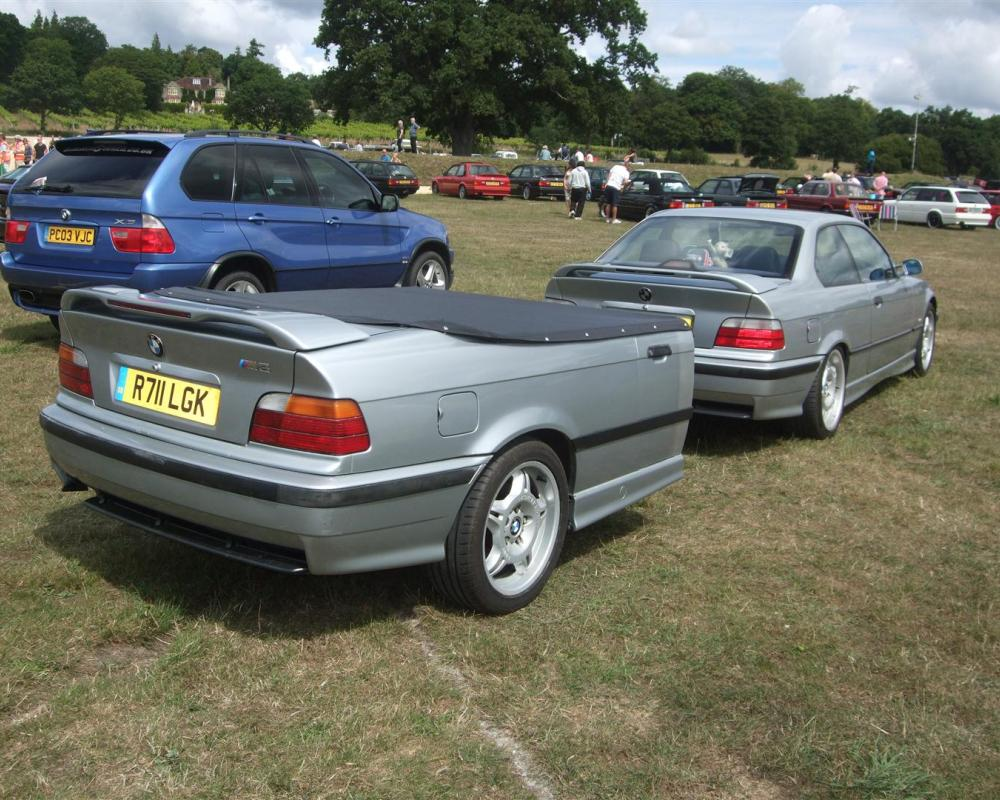 1997 BMW 3 series with trailer | Flickr - Photo Sharing!