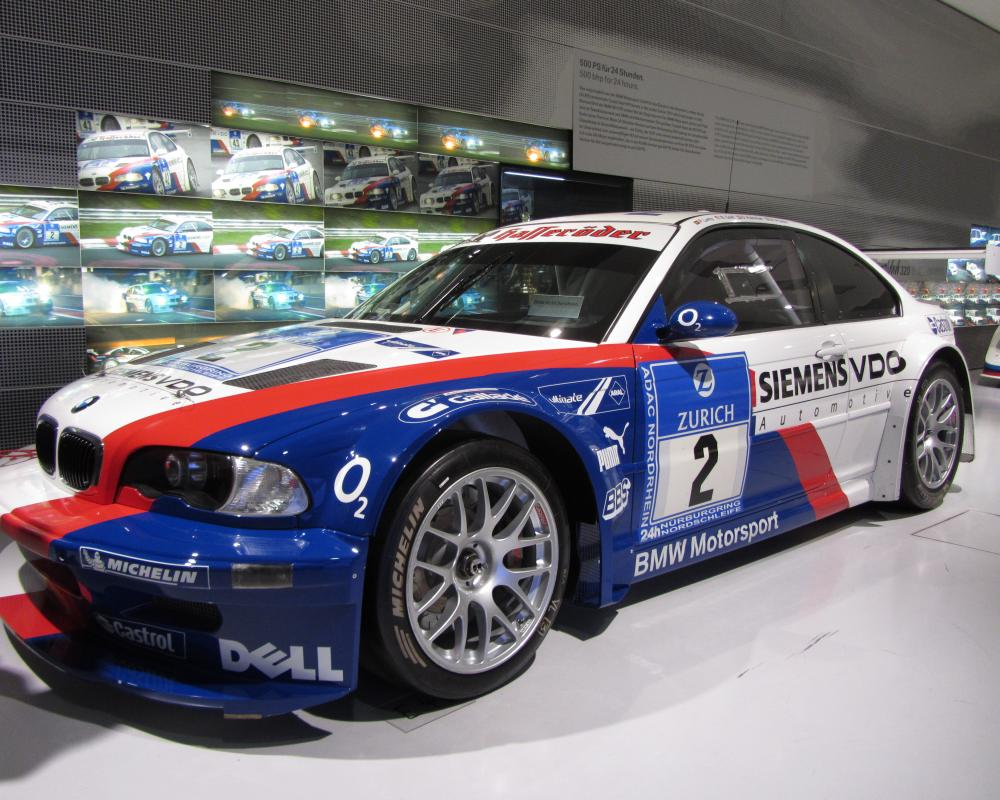 2004 BMW M3 GTR Race Car | Flickr - Photo Sharing!