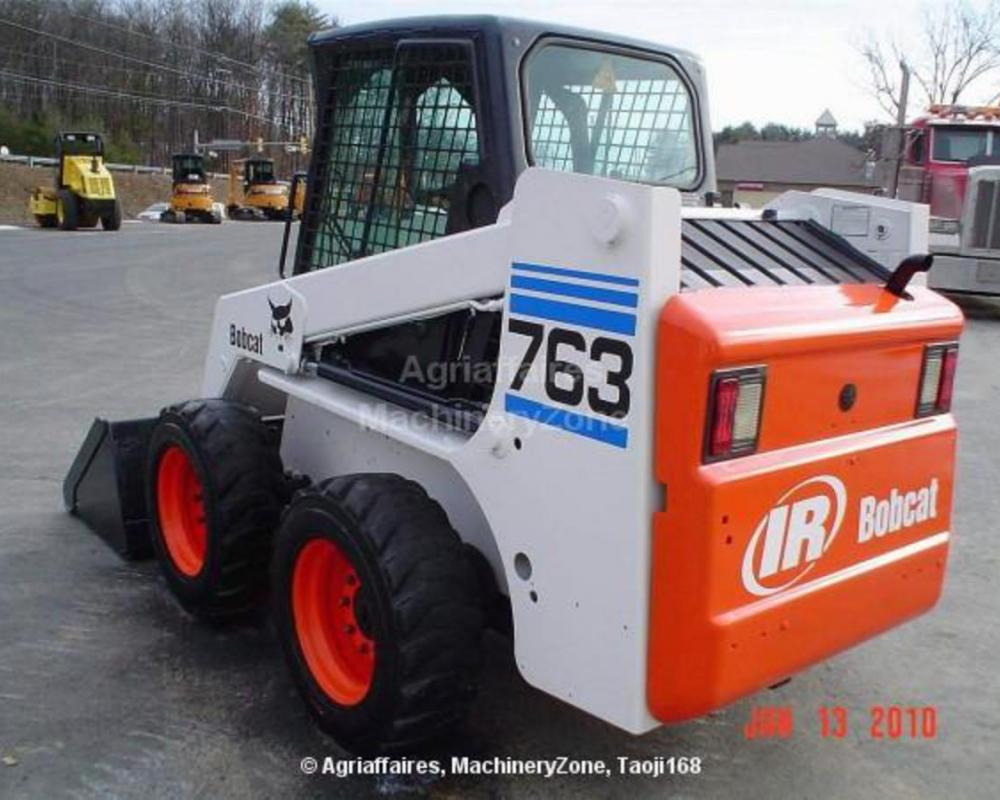 Skid Steer Bobcat 763 of 2002 for sale 16500 USD at MachineryZone
