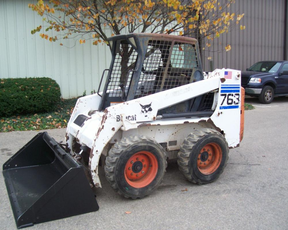 Bobcat 763 For Sale :: Construction Equipment Guide