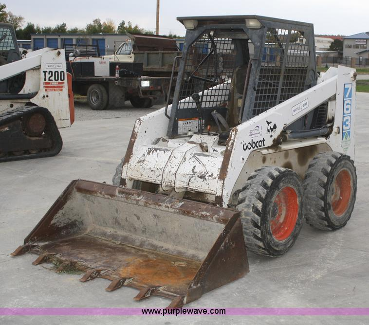 1995 Bobcat 763 skid steer | no-reserve auction on Tuesday ...