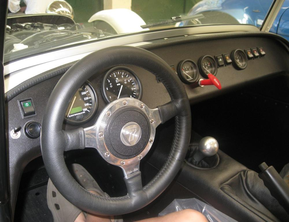 Interior Dashboard Caterham Seven Academy 2009 | Flickr - Photo ...