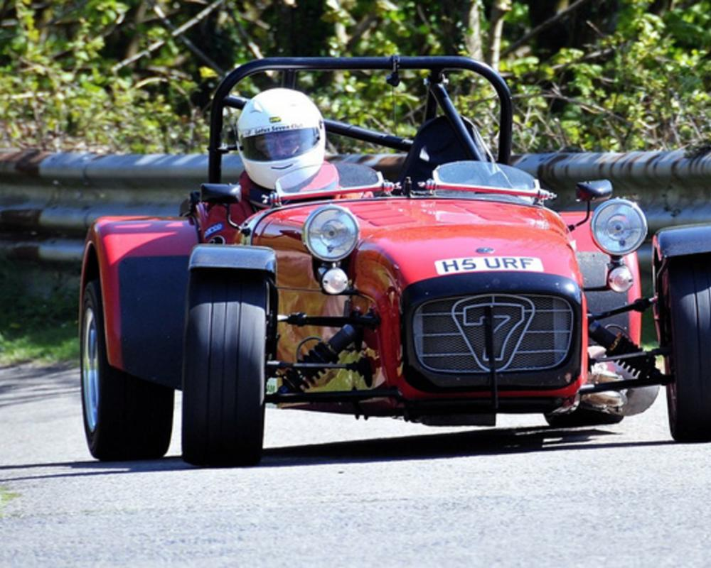 726 - Tamara Calvert - Caterham Supersprint 1700 Lotus 7 | Flickr ...