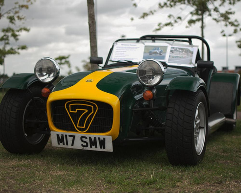 Caterham Seven, Green/Yellow | Flickr - Photo Sharing!