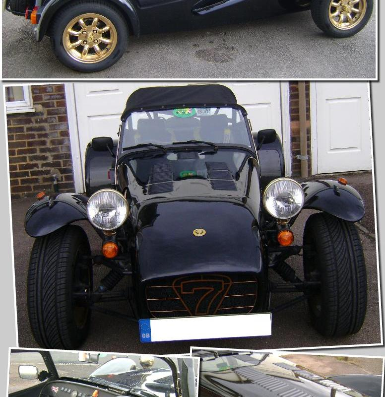 Warwickshire 7s / Caterham 7 Owners Club / Kevins Car For Sale
