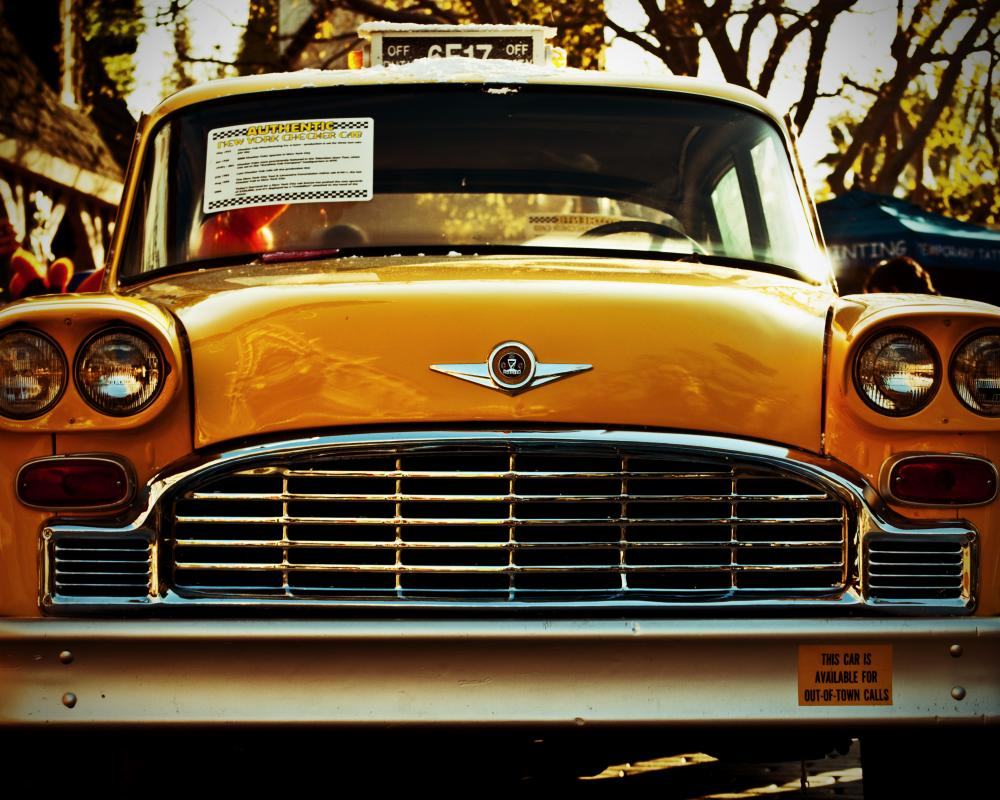 Universal Studios – Authentic Checker Cab | My Camera Journal