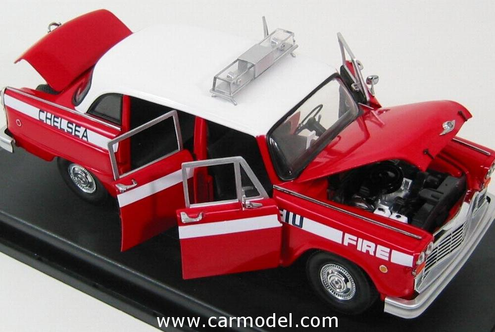 SUN-STAR 02508 Scale 1/18 | CHECKER SPECIAL A11 FIRE ENGINE ...