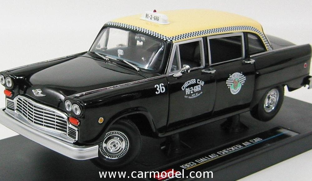 SUN-STAR 02507 Scale 1/18 | CHECKER SPECIAL A11 TAXI CAB DALLAS ...