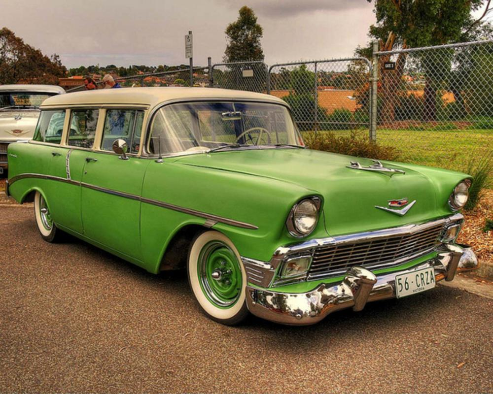 1956 Chevy 210 Beauville Wagon | Flickr - Photo Sharing!