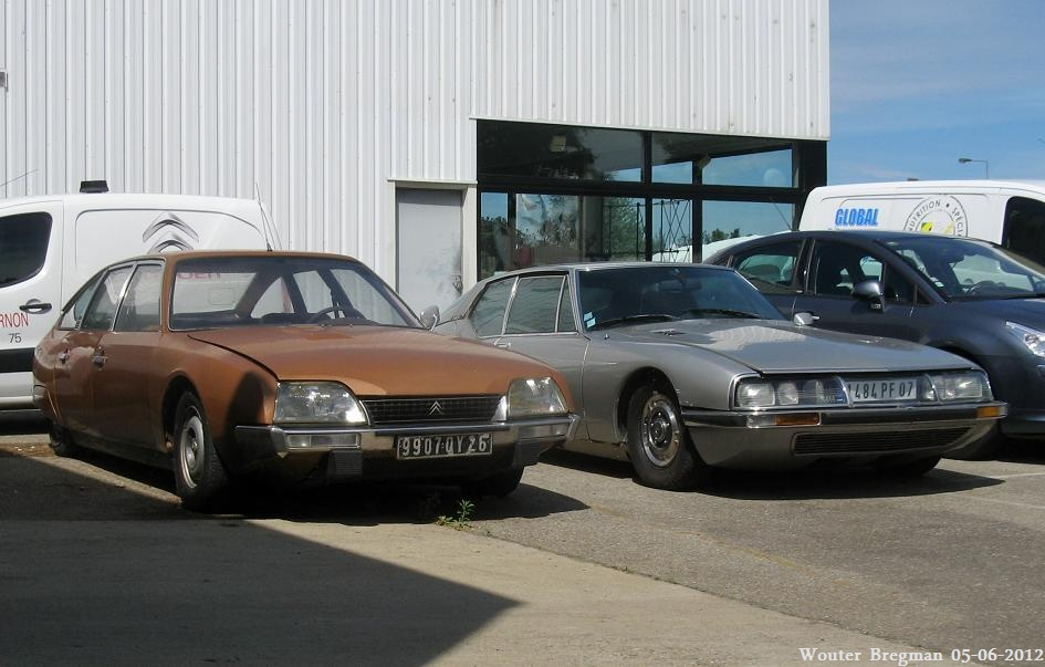 Citroën CX 2200 & Citroën SM | Flickr - Photo Sharing!