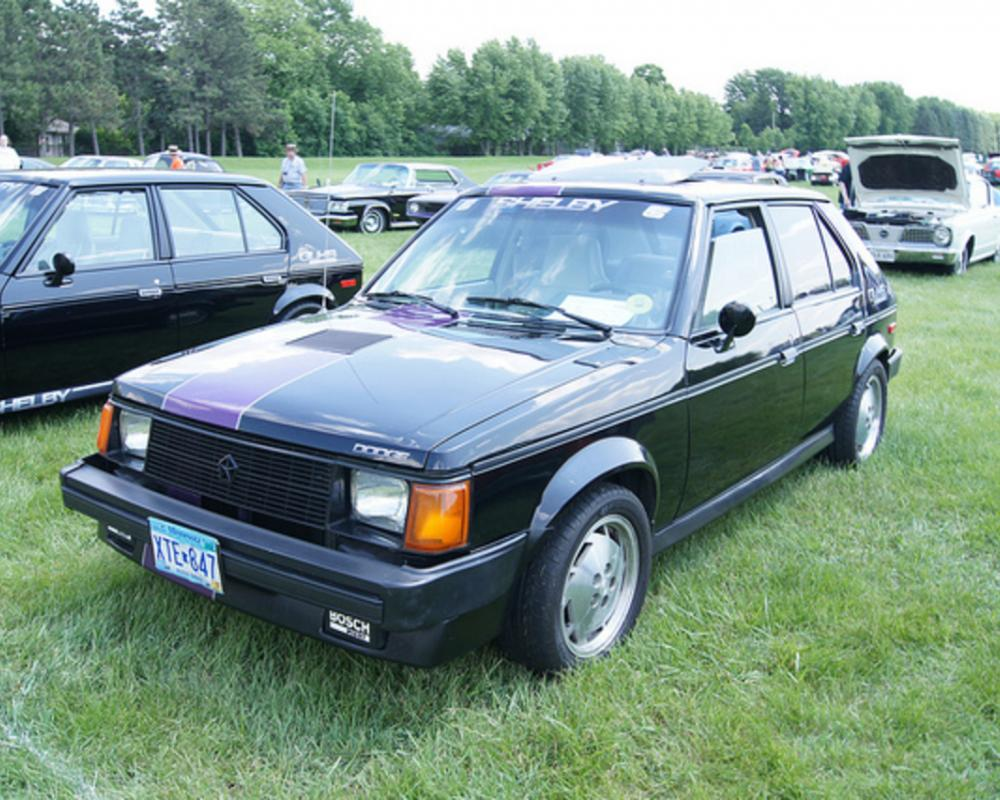86 Dodge Omni GLH-S Shelby | Flickr - Photo Sharing!