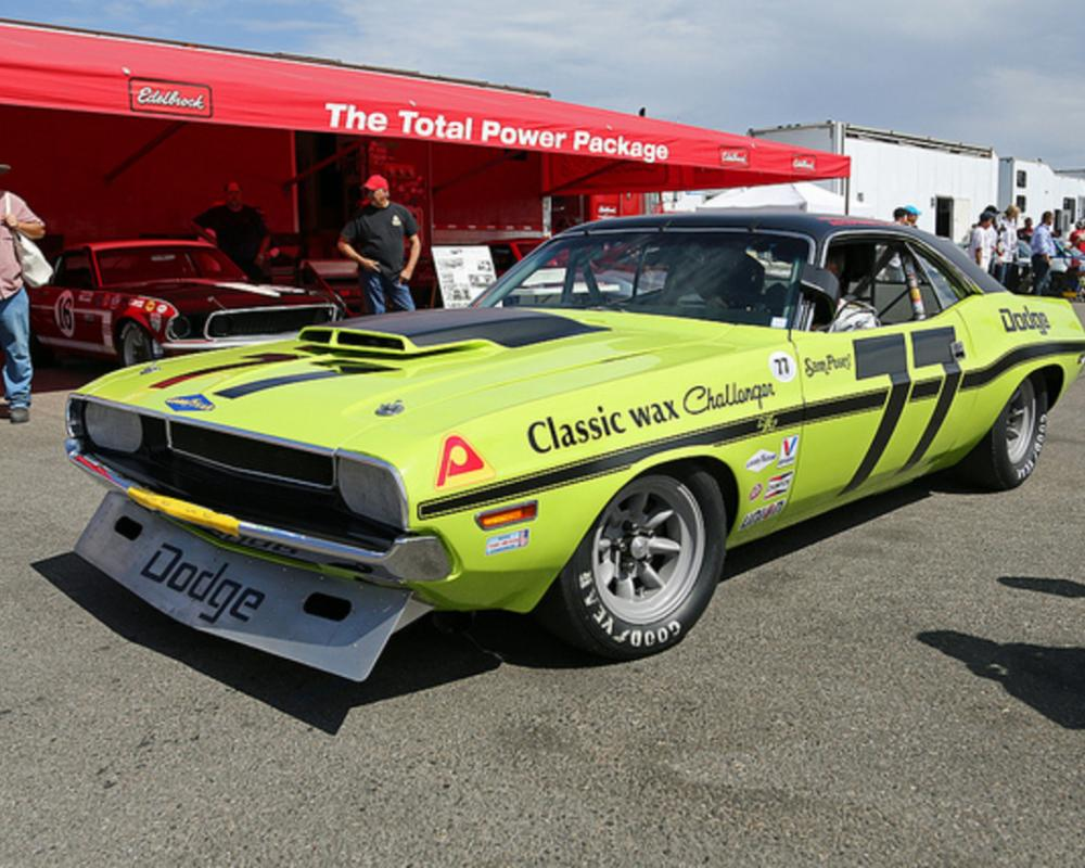 Dodge Challenger Trans-Am Sam Posey 1970 | Flickr - Photo Sharing!