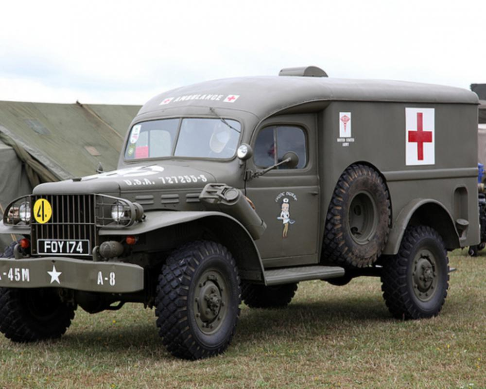 1944 Dodge WC54 ambulance. | Flickr - Photo Sharing!