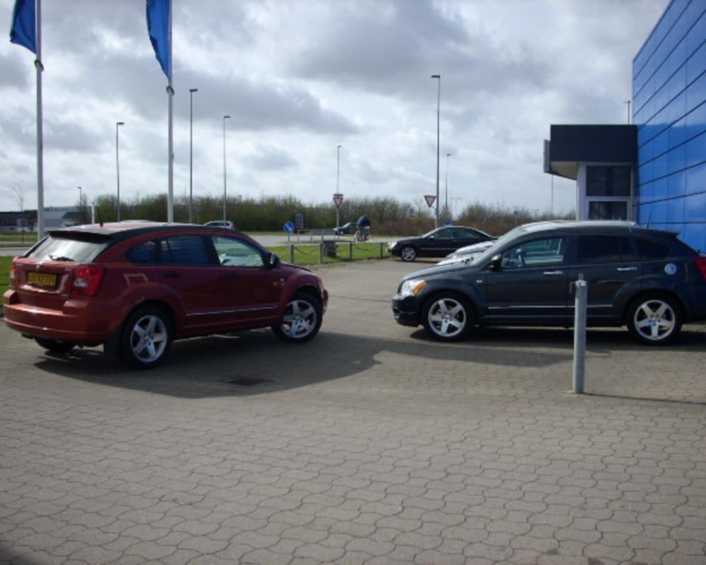 Dodge Caliber SXT CRD Sunburst Orange Min bil HBag mSænket SXTer i ...