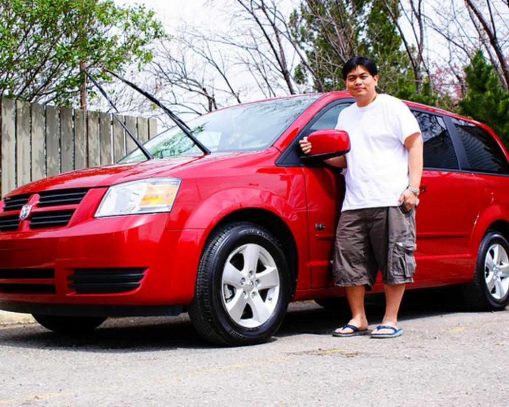 Me and my Dodge Grand Caravan | Flickr - Photo Sharing!