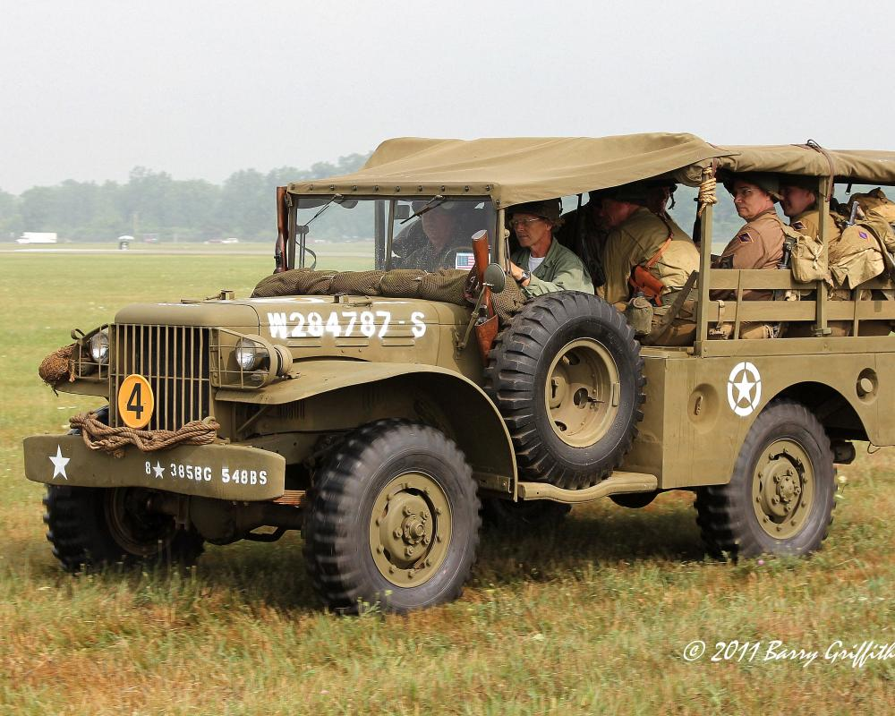 Dodge WC-51 Series Cargo Truck 3/4 ton 4x4 US Army WW II Vintage ...