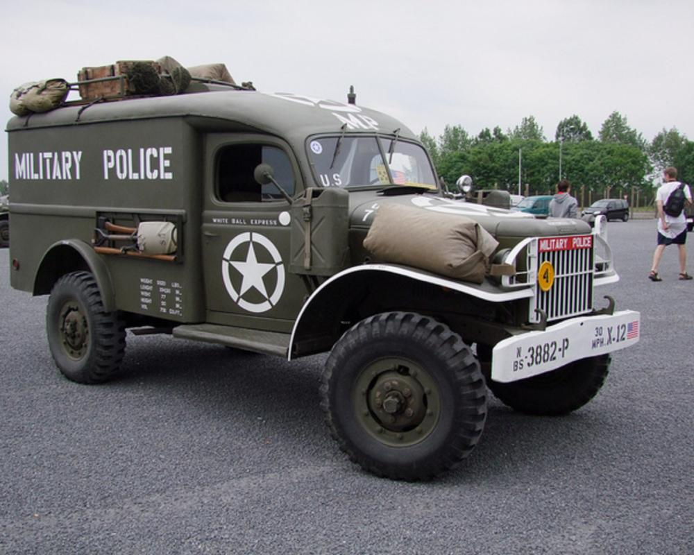 Dodge WC54 Military Police | Flickr - Photo Sharing!