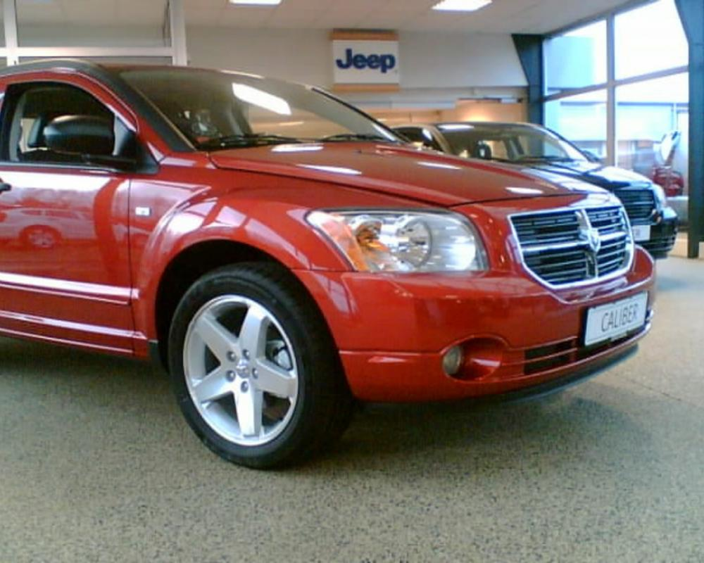 Dodge Caliber SXT CRD Sunburst Orange Min bil HFront | Flickr ...