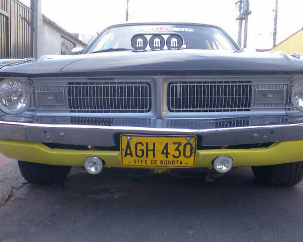 Dodge Demon PLACAS DE CARRO COLOMBIA. SANTAFE DE BOGOTA Colombia ...
