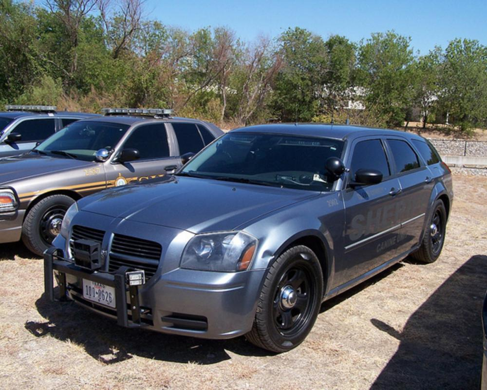Travis County, TX Sheriff K-9 Dodge Magnum | Flickr - Photo Sharing!