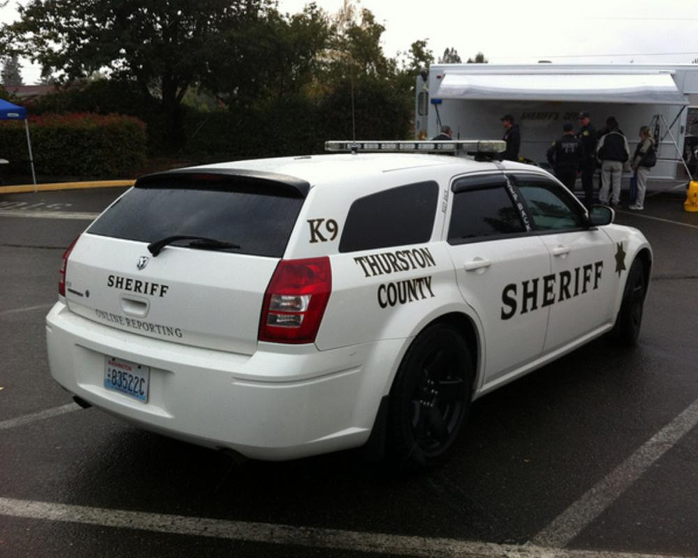 Thurston County Sheriff - Dodge Magnum | Flickr - Photo Sharing!