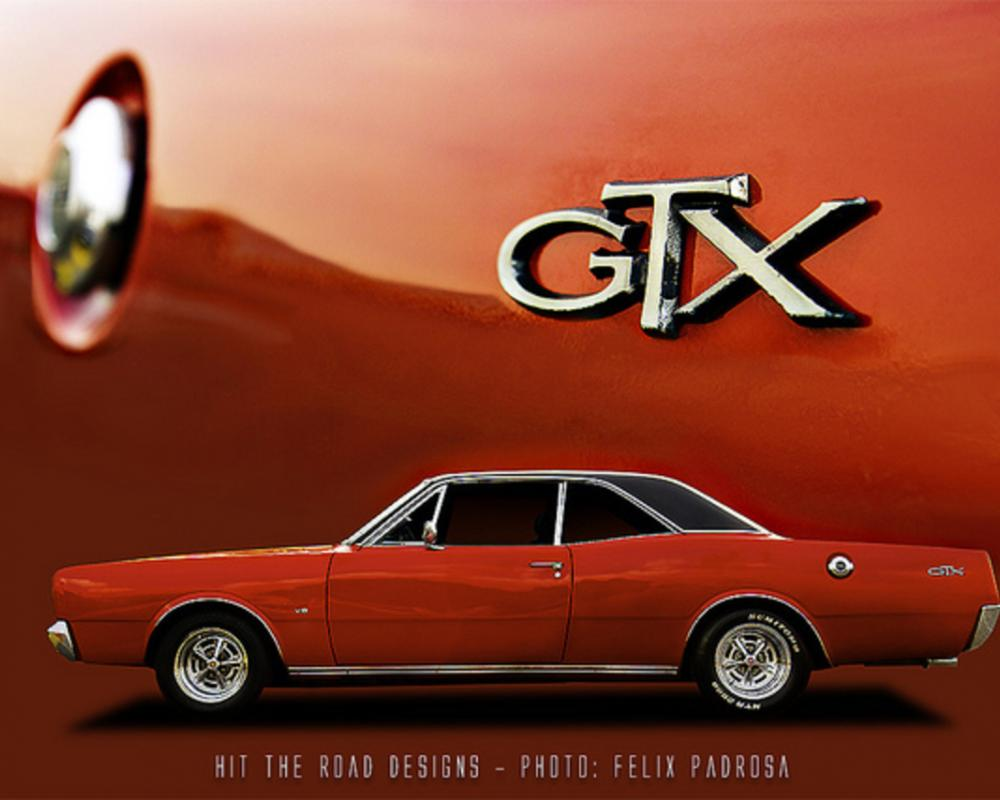 Red Dodge GTX Coupe poster | Flickr - Photo Sharing!
