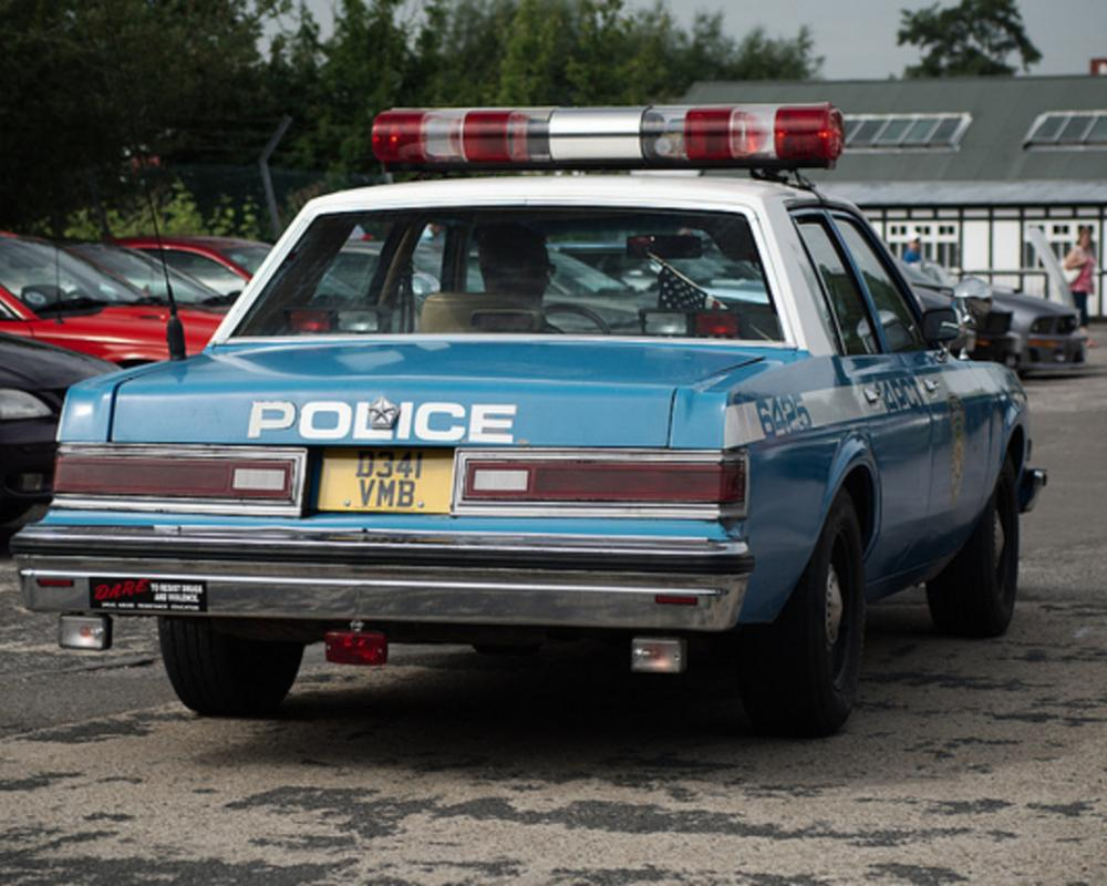 Dodge Diplomat (police) | Flickr - Photo Sharing!