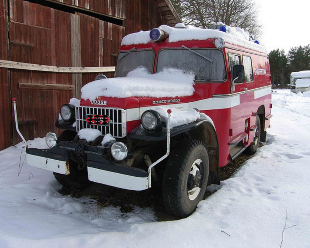 Old Dodge Power Wagon fire truck | Flickr - Photo Sharing!