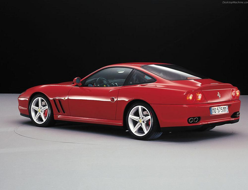Ferrari 550 Maranello - featured on engineCrazy.