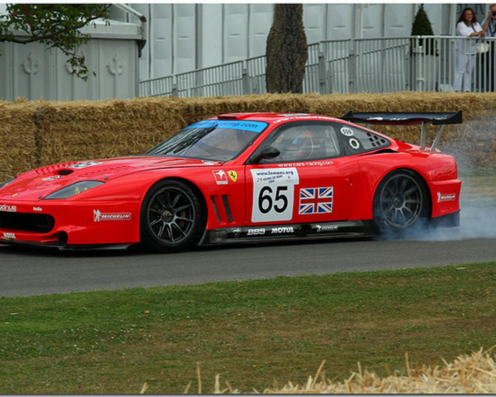 2003 Peter Kox Ferrari 550 Maranello GTS Goodwood Festival of ...