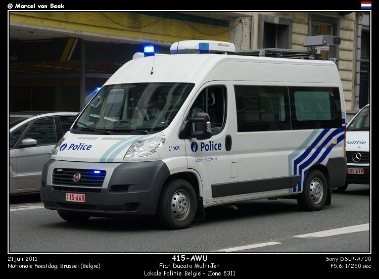Belgian Police - Fiat Ducato (415-AWU) | Flickr - Photo Sharing!