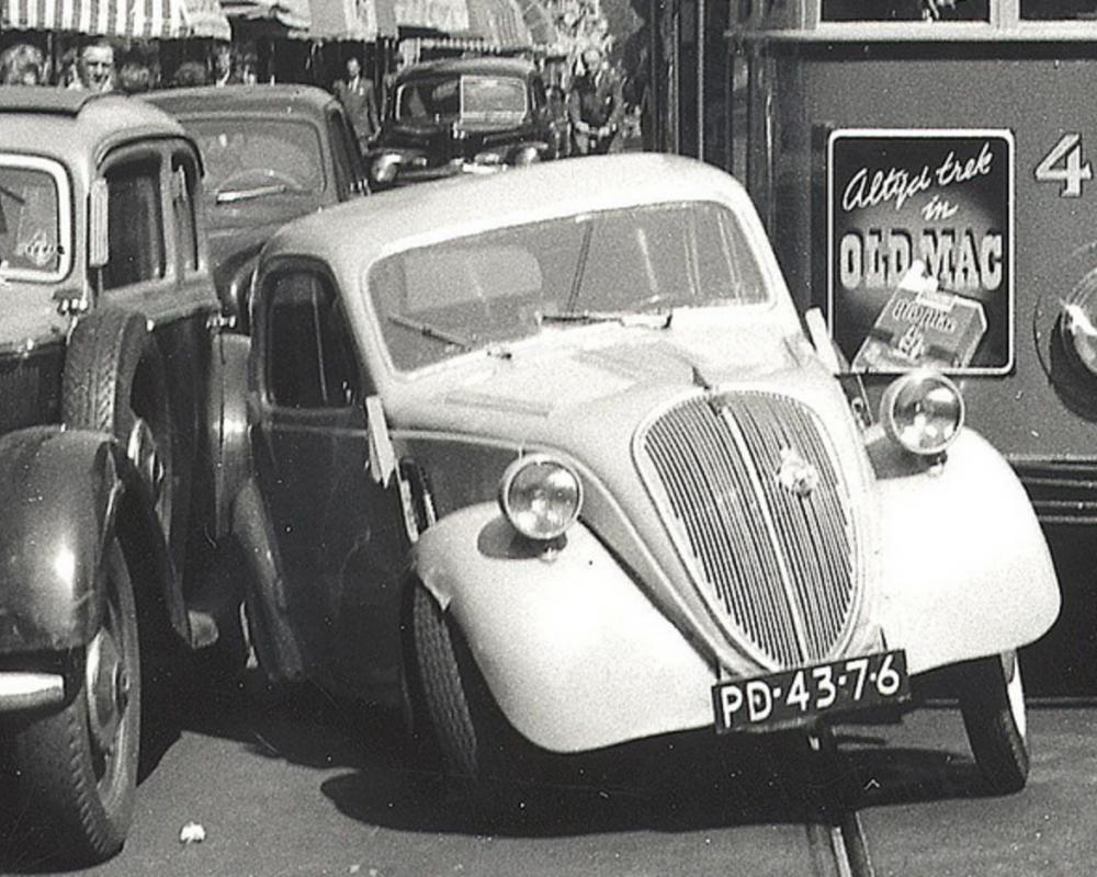 PD-43-76 Fiat 500 Topolino / Simca 5 | Flickr - Photo Sharing!