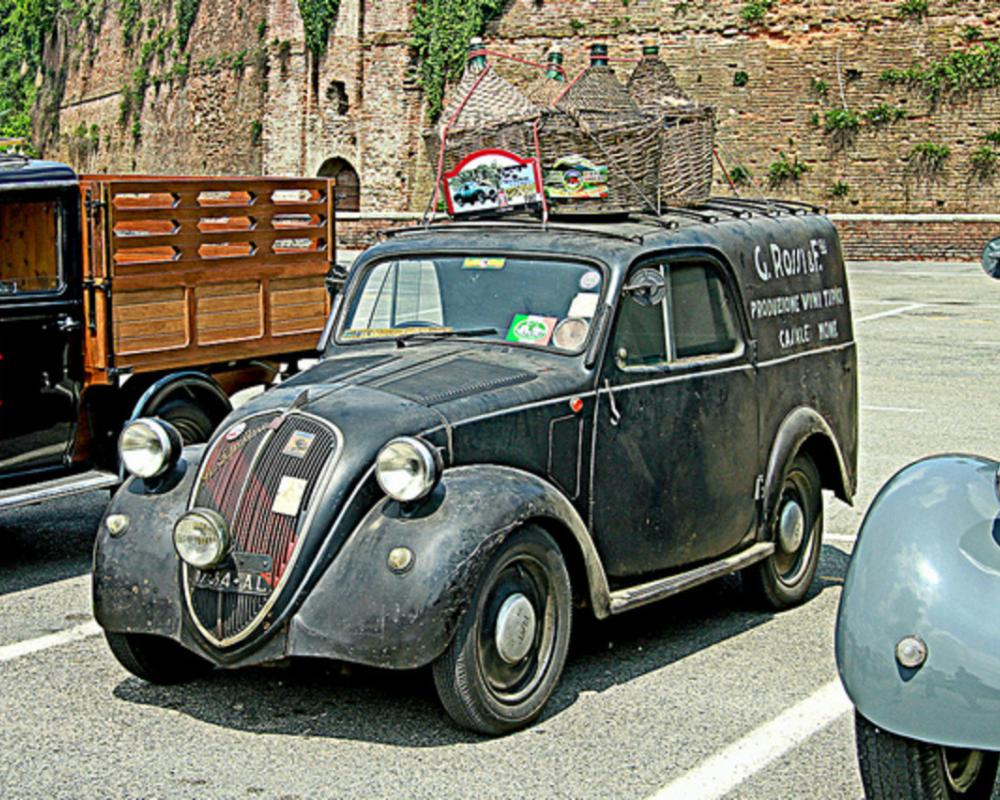 FIAT 500 Topolino Commerciale - A.I.T.E. | Flickr - Photo Sharing!