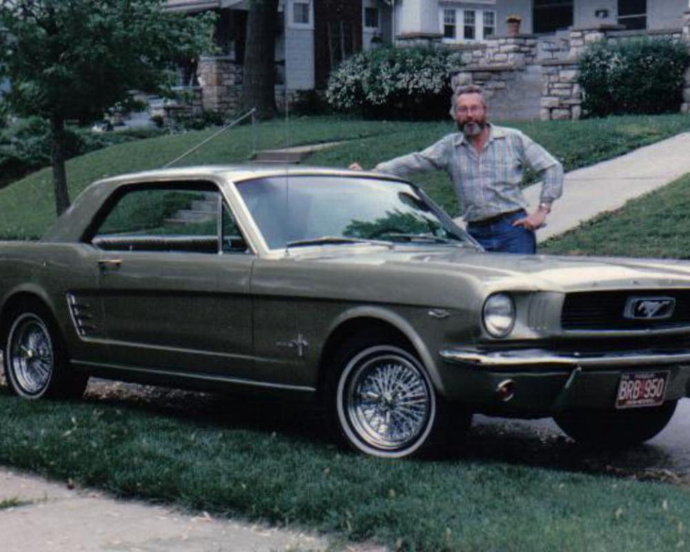 1966 Ford Mustang coupe in Sauterne Gold | Flickr - Photo Sharing!