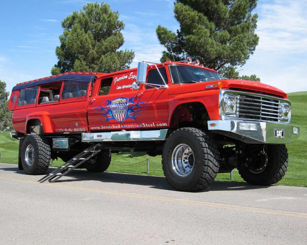Stretched American Steel Ford F-750 | Flickr - Photo Sharing!