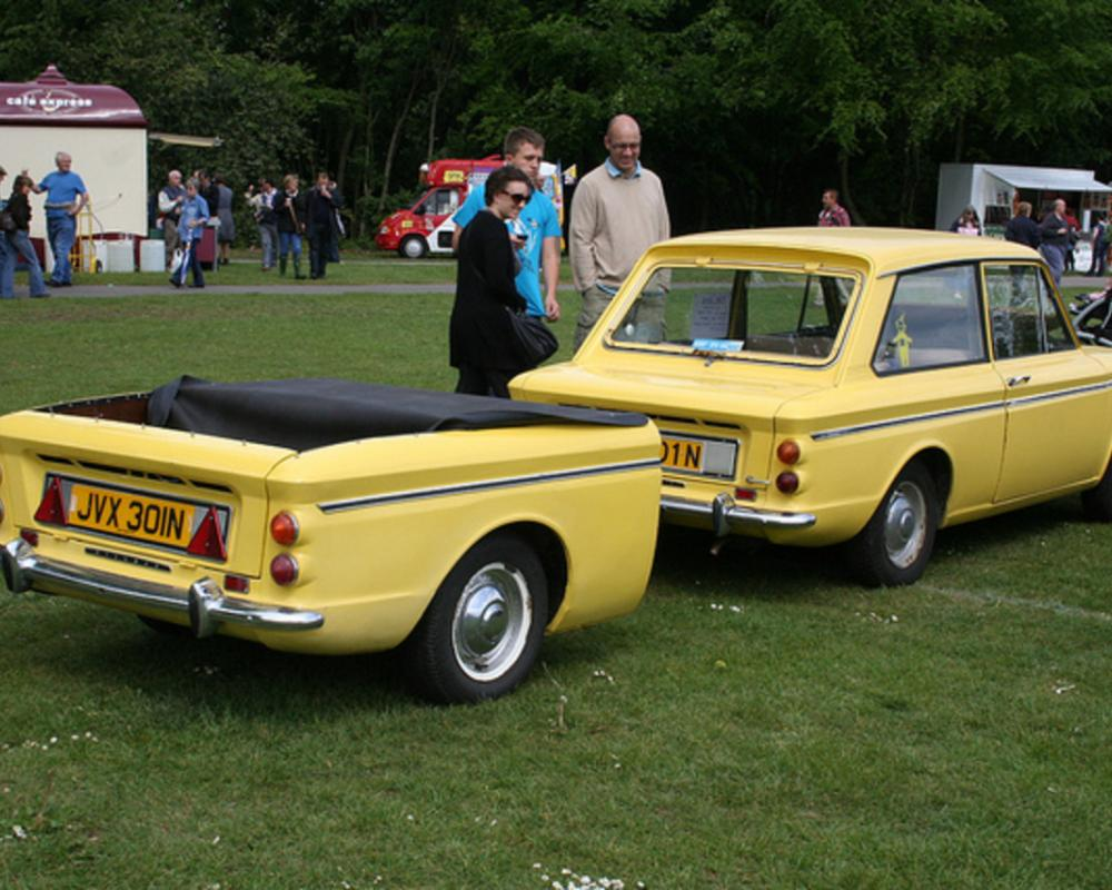 Hillman Imp JVX 301N and trailer | Flickr - Photo Sharing!
