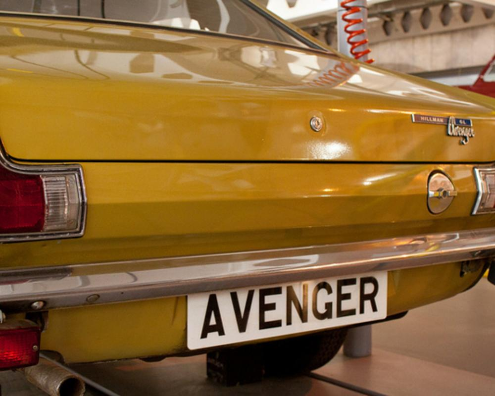 Hillman Avenger - Rear | Flickr - Photo Sharing!
