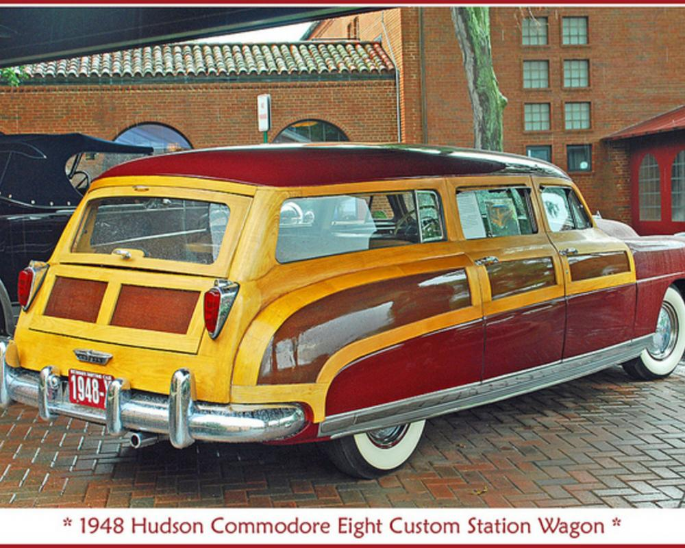1948 Hudson Commodore woodie | Flickr - Photo Sharing!
