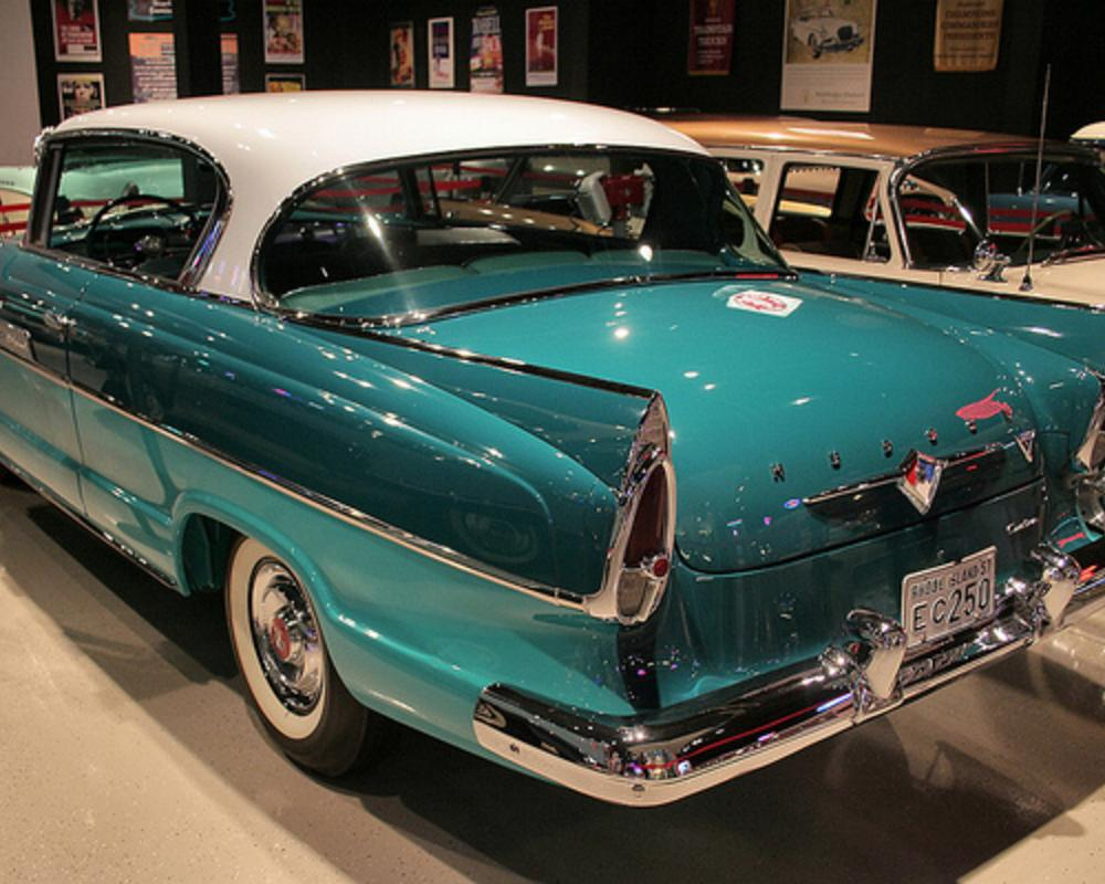 1957 Hudson Hornet Hollywood 2d htp - Glendale Green Poly ...