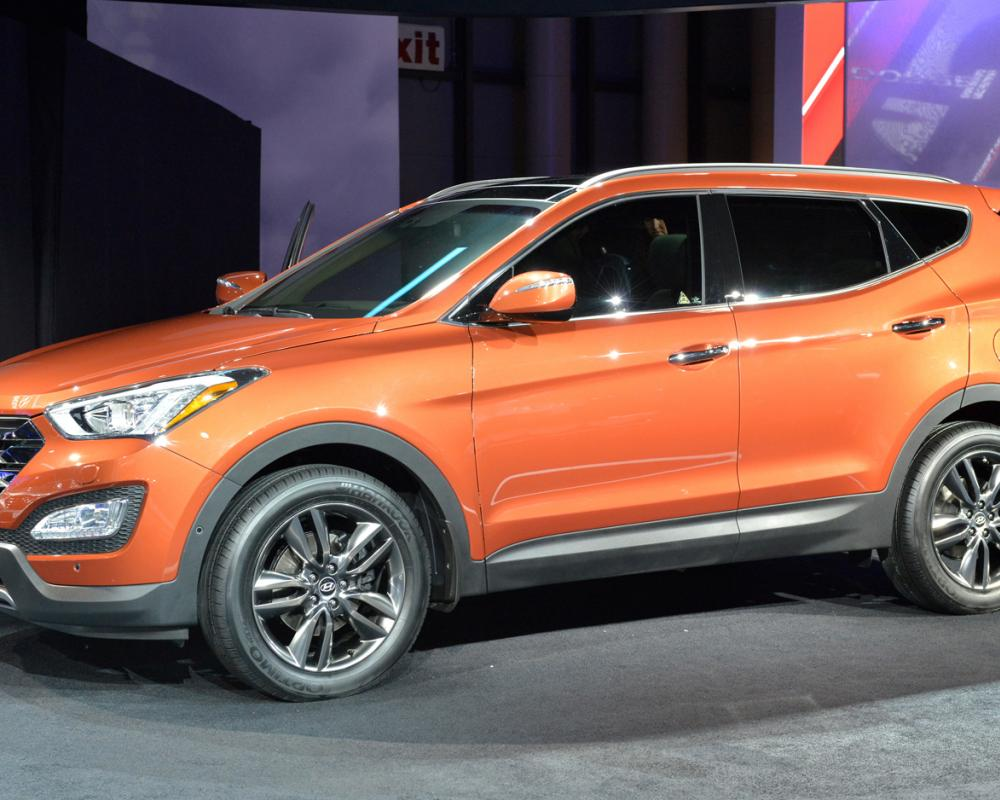 2013 Hyundai Santa Fe Front Photo 1