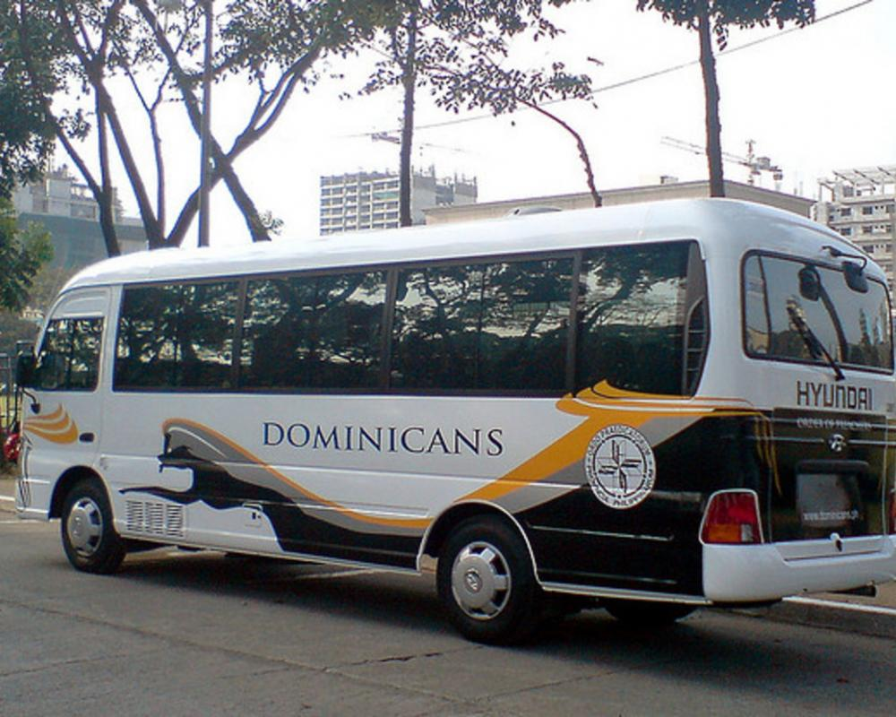 The Order of Preachers (dominican) Hyundai County Deluxe | Flickr ...