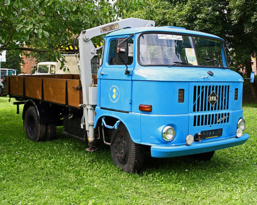 IFA W50 LDK Pritsche mit Ladekran | Flickr - Photo Sharing!