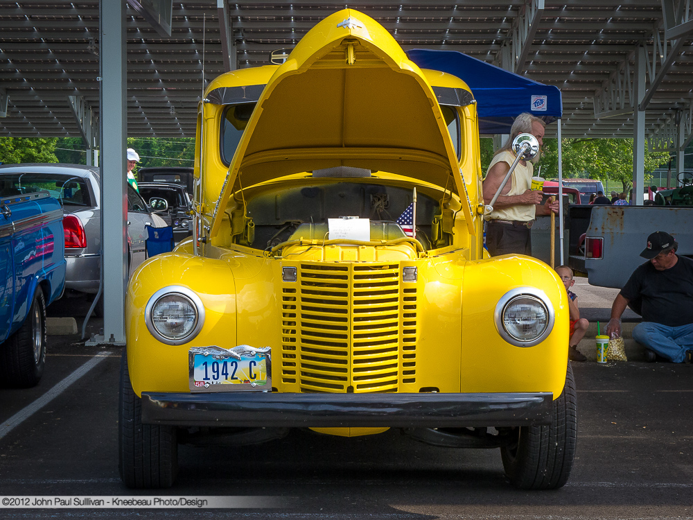 1942 International C Pickup Truck Front View | Flickr - Photo Sharing!